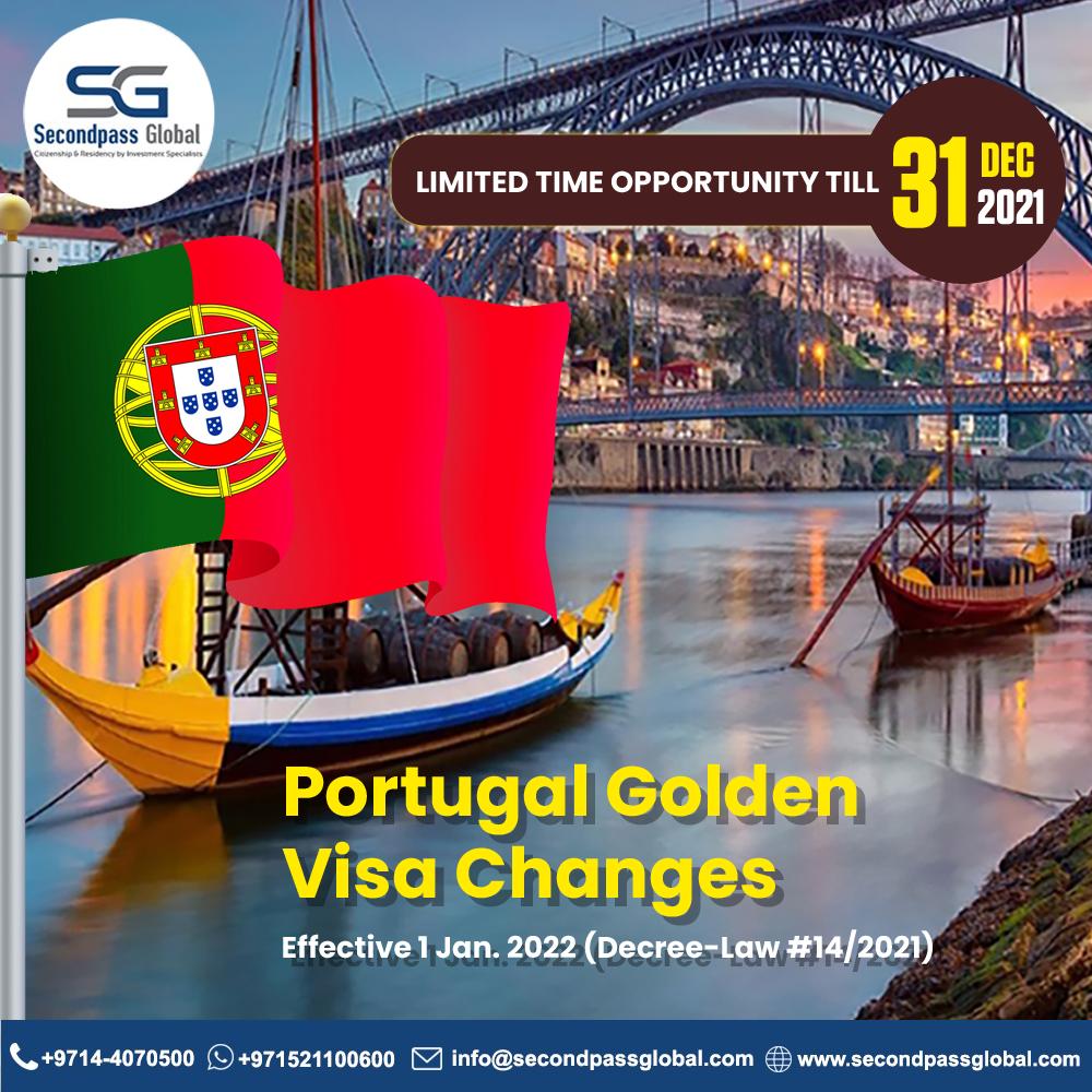 Portugal Golden Visa Changes