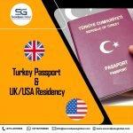 Turkey Passport & UK/USA Residency